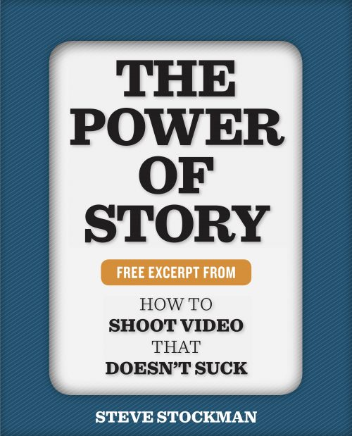 "Cover of ""The Power of Story"" by Steve Stockman"